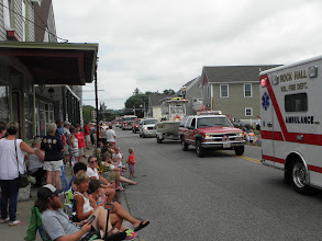 Photo: Several of the surrounding towns had their vol. Fire Dept. showcased in the parade.