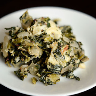 New Casserole Recipe! Baked Spinach & Cheese, Indian-Style.