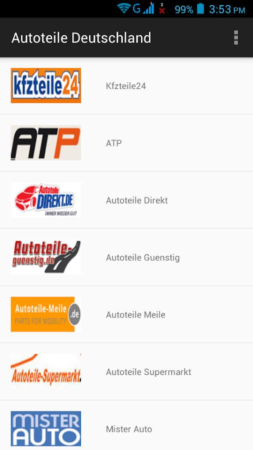 autoteile deutschland android apps on google play. Black Bedroom Furniture Sets. Home Design Ideas