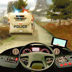 Police Bus Hill Climb Driver for PC and MAC