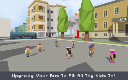 Blocky School Bus Simulator Craft 1.4 screenshots 2