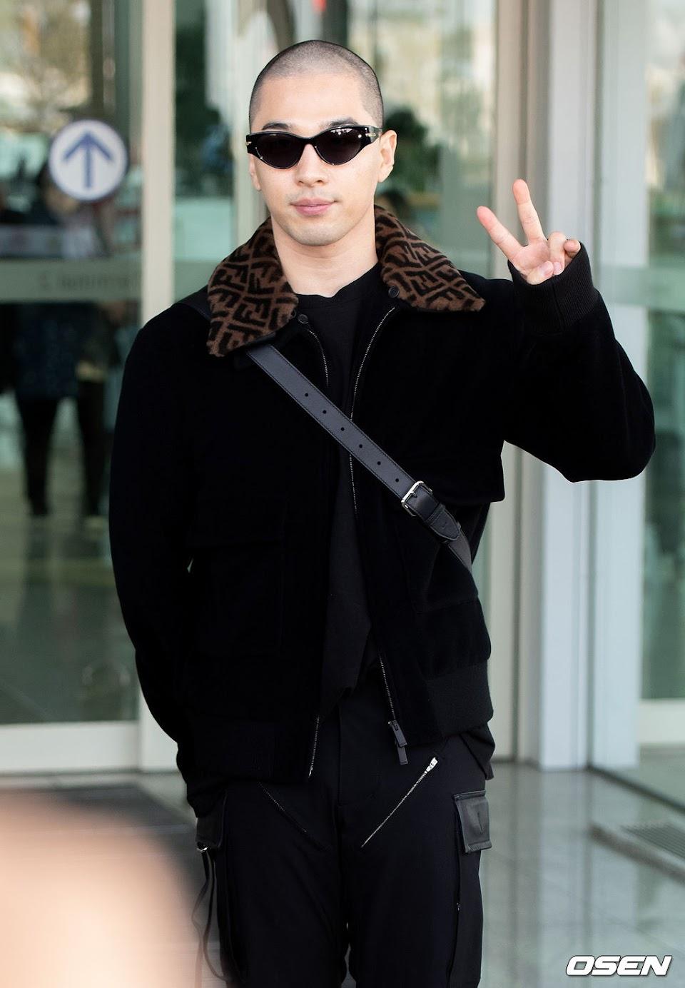taeyang fendi 2020 airport 1