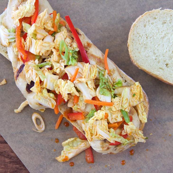 Easy Kimchi Slaw