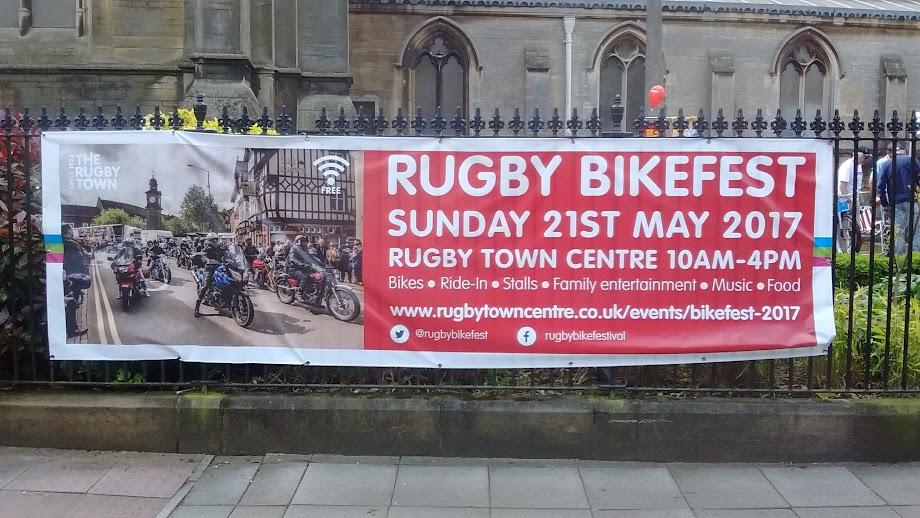 Rugby                 Bikefest 2017