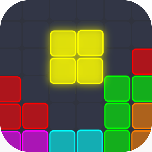 Neon Block Puzzle : Square & Hexagon Brain Test Android APK Download Free By GudoGames