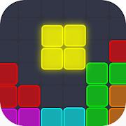 Neon Block Puzzle : Square & Hexagon Brain Test
