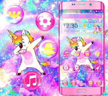 Galaxy Swag Unicorn Theme Apper Pa Google Play