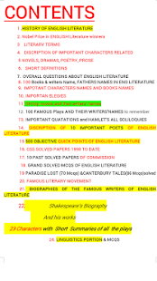 English literature preparation - náhled