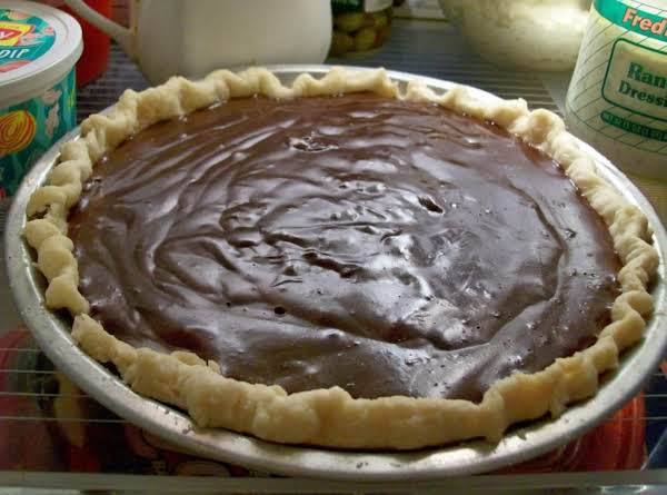 All time Favorite CHOCOLATE CREAM PIE by Freda_image