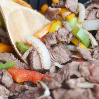 Air Fryer Steak Fajitas Recipe