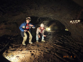 """Photo: The """"bat cave"""" was the biggest cave we toured."""