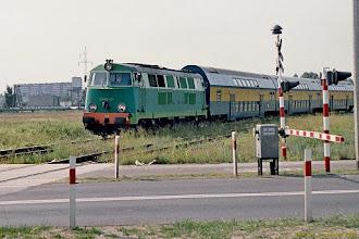 Photo: SU45-121, Toruń Główny - Malbork {szlak Toruń Wschodni - Ostaszewo Toruńskie; 2003-06-05}