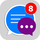 Social Messenger: Message, Text, Video, Chat icon