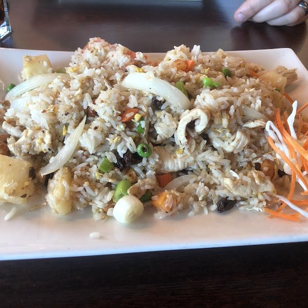Gluten-free Pineapple & Chicken Fried Rice