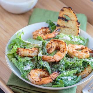 Southwest Grilled Shrimp Caesar Salad.