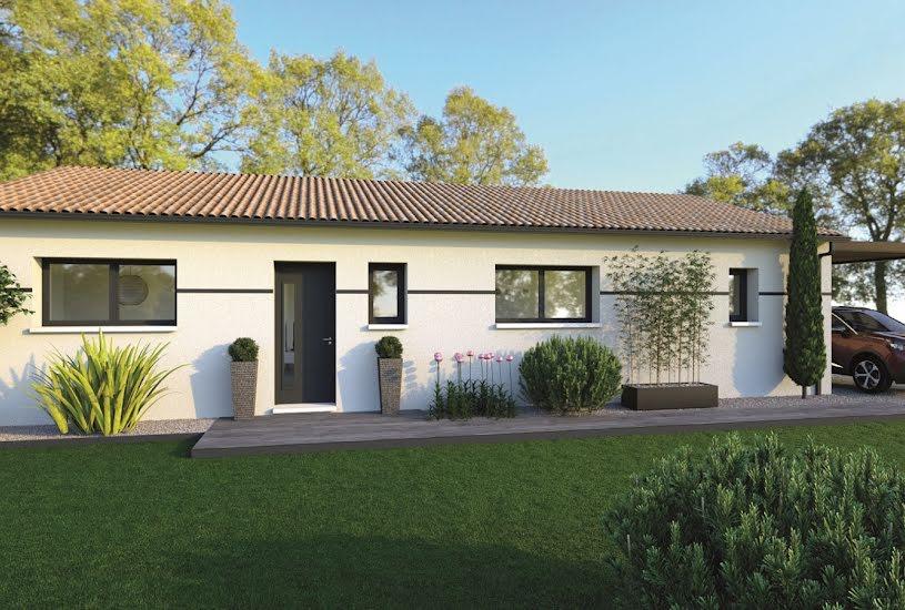 Vente Terrain + Maison - Terrain : 2337m² - Maison : 100m² à Gardonne (24680)