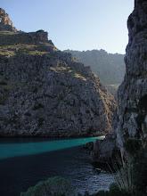 Photo: Desembocadura/ Mündung/ Mouth  Torrent de Pareis (Sa Calobra)