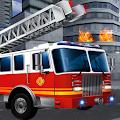 FireFighter Emergency Truck : Rescue Hero