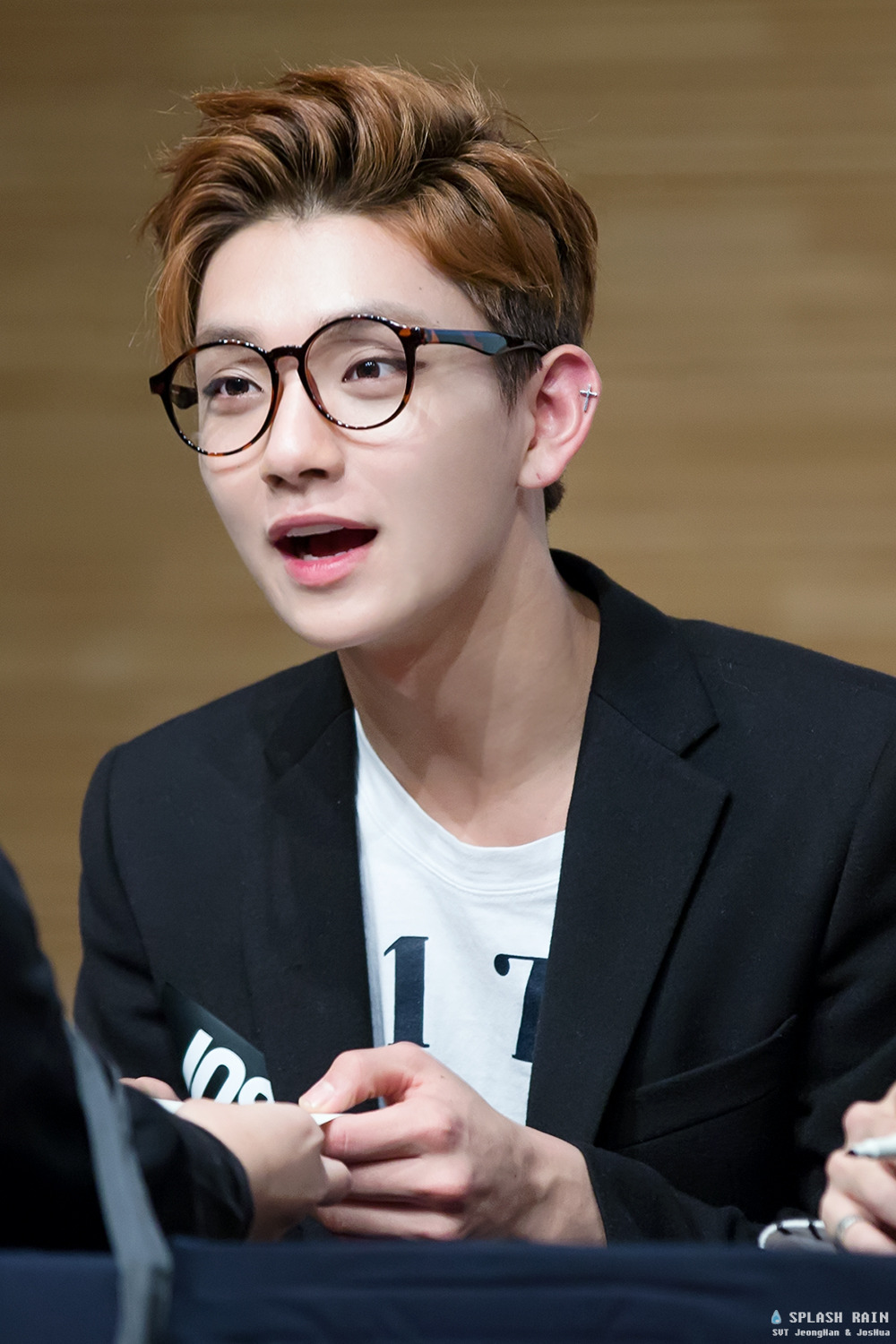480372d867d3 Joshua is cute as a button in his glasses! The glasses also show off his  flawless good looks.