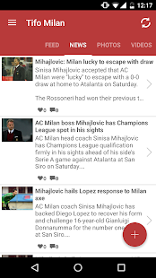 Tifomilan for Milan Fans- screenshot thumbnail