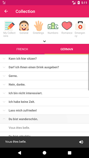 French German Offline Dictionary & Translator screenshot 5