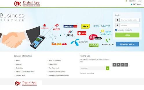 Digital Services - náhled
