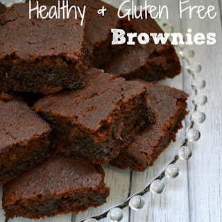 Healthy Gluten Free Brownies.