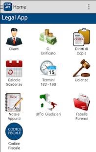 Legal App Free - náhled