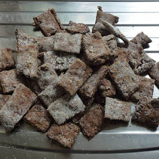 Homemade Dog Biscuit.
