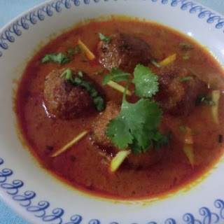 Banana Flower Kofta Curry