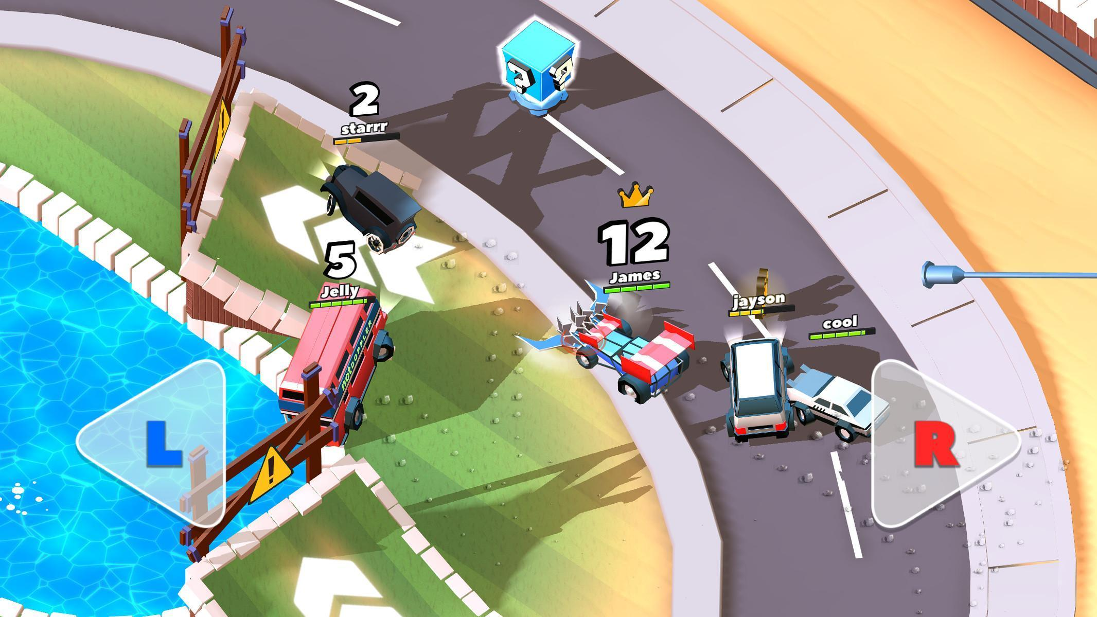 Crash of Cars Mod Apk (Unlimited Money/Gems/Health) Unlocked all Cars 3