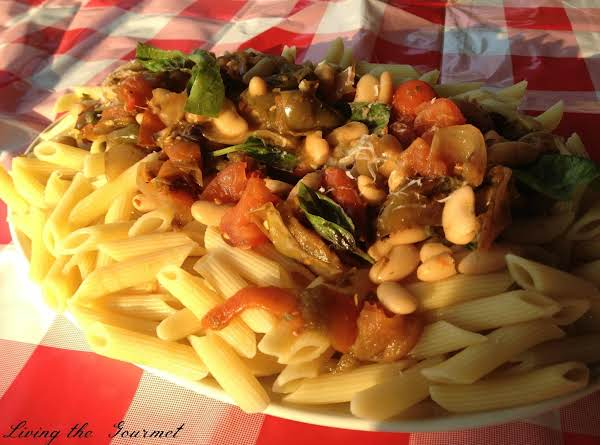Roasted Pepper With Beans And Macaroni Recipe