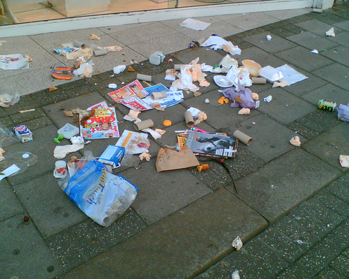 Image result for litter school campus