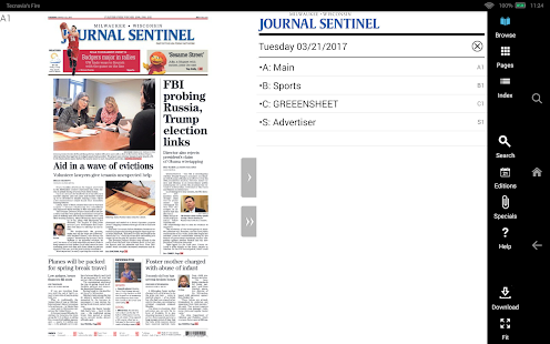 Milwaukee Journal Sentinel- screenshot thumbnail