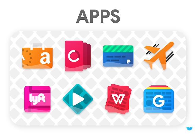 Download APK: Glaze Icon Pack v4.7.0 [Patched]