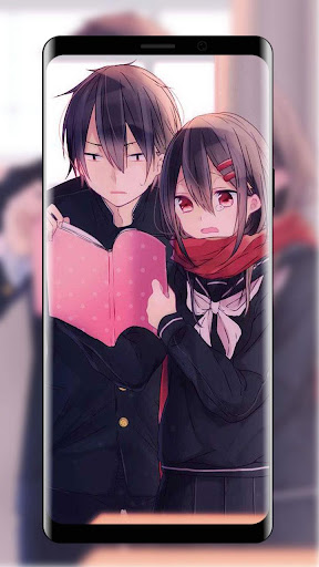 Download Cute Anime Couple Wallpaper Free For Android Cute Anime Couple Wallpaper Apk Download Steprimo Com