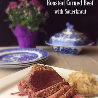 Roasted Corned Beef with Sauerkraut