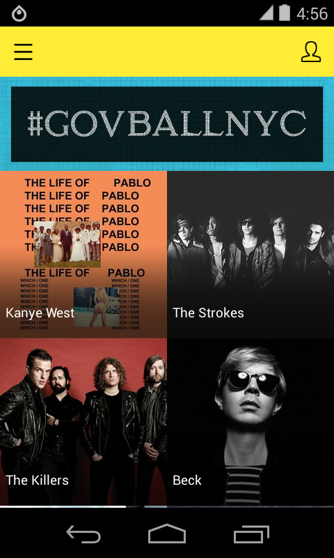 Governors Ball Music Festival- screenshot