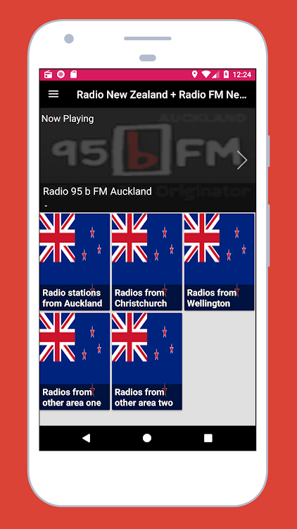 Radio New Zealand FM + Radio Live New Zealand App – (Android