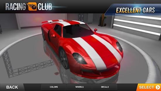 Racing Club- screenshot