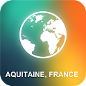 Aquitaine, France Offline Map icon