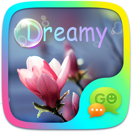(FREE) GO SMS DREAMY THEME 個人化 App LOGO-APP開箱王