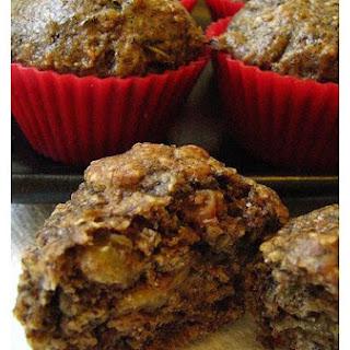 Flax Oat Bran Muffins