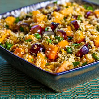 Chilled Couscous Salad with Mango.