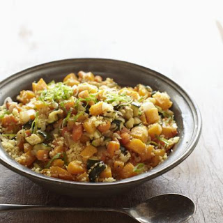 Moroccan Couscous With Saffron