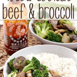 Slow Cooker Beef & Broccoli.