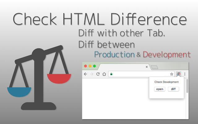 HTML Diff Check Tool