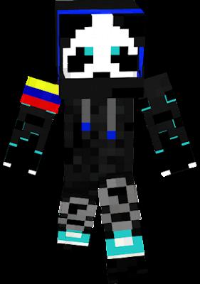 esta skin es de colombia y la cree sho mismo :)
