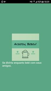Download Acertou, Bebeu! For PC Windows and Mac apk screenshot 1