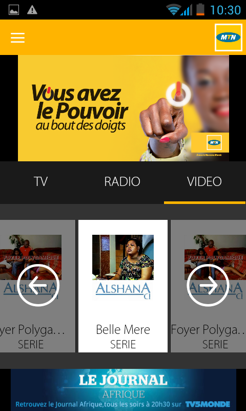 MTN TV - Android Apps on Google Play